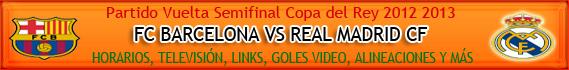 Dale Click y enterate de todo sobre el Barcelona vs Real Madrid de Hoy en la Liga Española