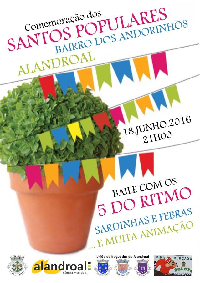 SANTOS POPULARES - BAIRRO DOS ANDORINHOS (ALANDROAL).
