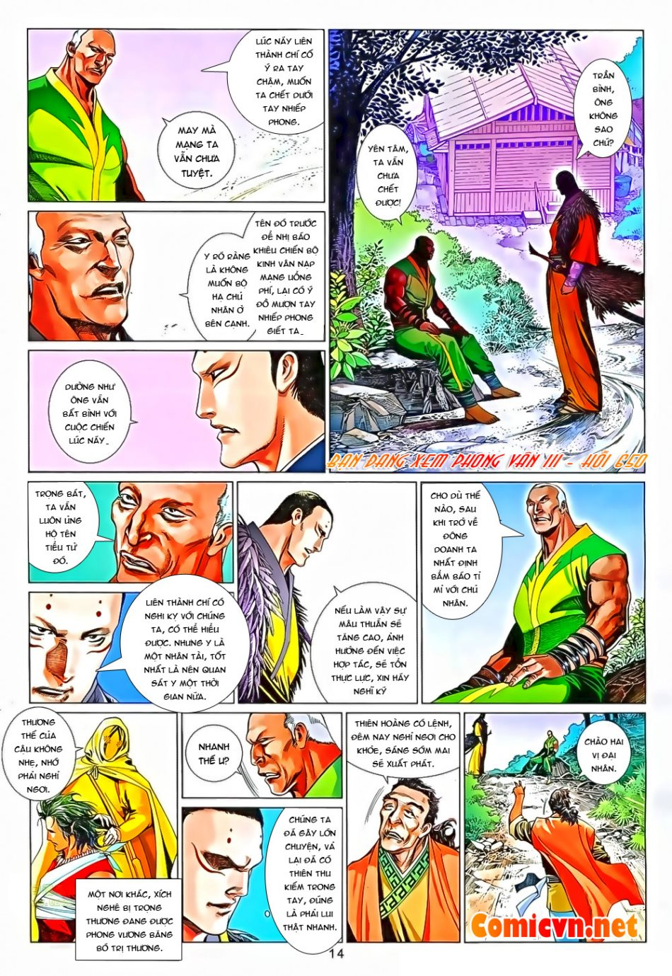 Phong Vân chap 650 Trang 14 - Mangak.info