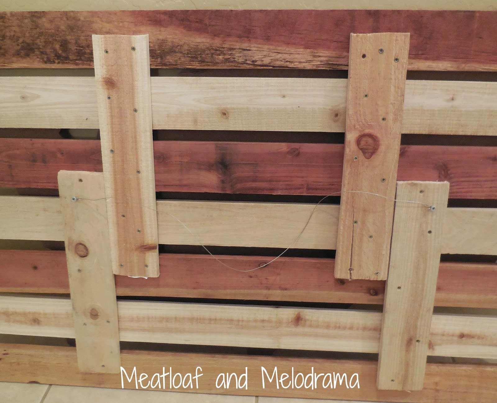 rustic wooden wall art, DIY wood gate