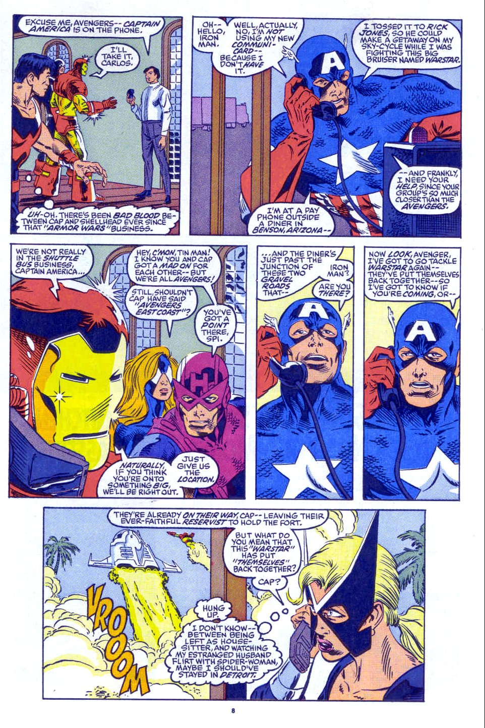 Captain America (1968) Issue #398b #332 - English 7