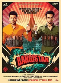 Watch Bangistan (2015) DVDRip Hindi Full Movie Watch Online Free Download