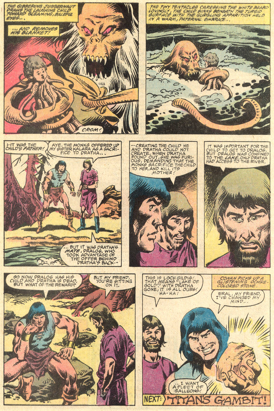 Conan the Barbarian (1970) Issue #136 #148 - English 23