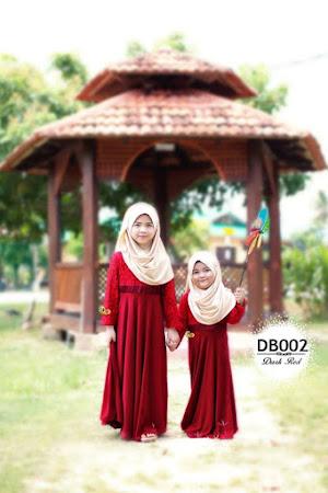 Jadilah Yang Paling Comel Dengan Dress Balqis For Kid. Cantik Sangat!