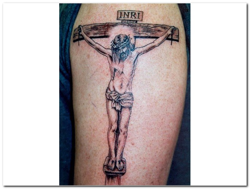 Jesus On Cross Tattoo Designs