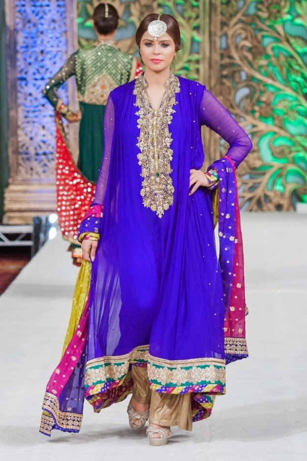 Fashion Glamour World: Fashion Dress Designer Obaid Sheikh Punjaamni ...