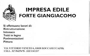 IMPRESA EDILE FORTE GIANGIACOMO