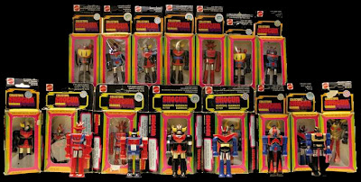 "Mattel Shogun Warriors 3"" Figures"
