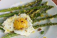 Asparagus, Egg & Bacon Bits