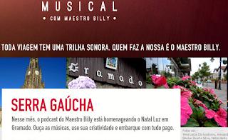 "Concurso Cultural ""Bagagem Musical"" - Serra Gaúcha"