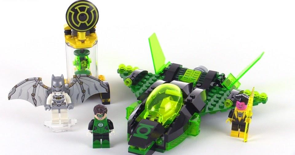LEGO Super Heroes Green Lantern vs Sinestro review! set 76025