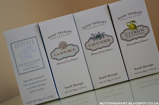 A Picture of Crabtree & Evelyn Hand Creams