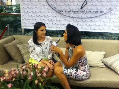 fno+Lari+Duarte Carão, Bicão e Cabelão no Vogue FNO no Fashion Mall!!
