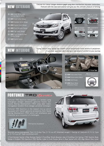 Brosur Toyota Grand New Fortuner