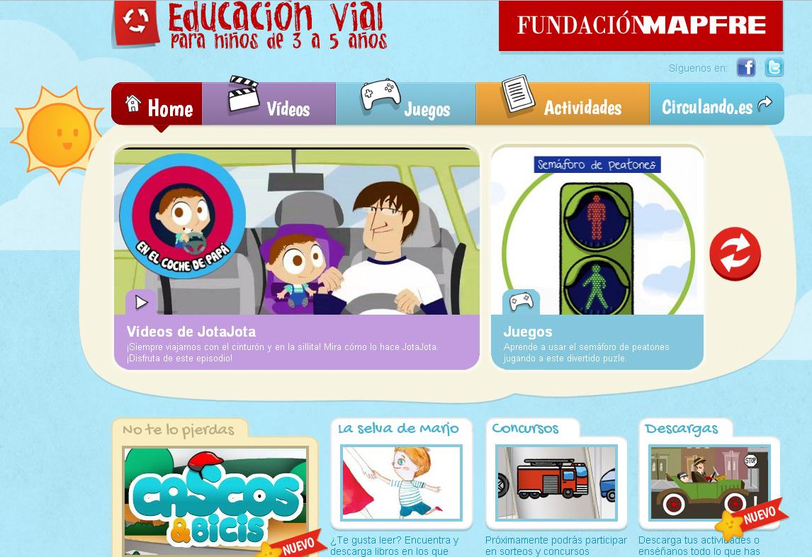 AMPA CEIP Dionisio Ridruejo: Recursos para niños sobre seguridad vial