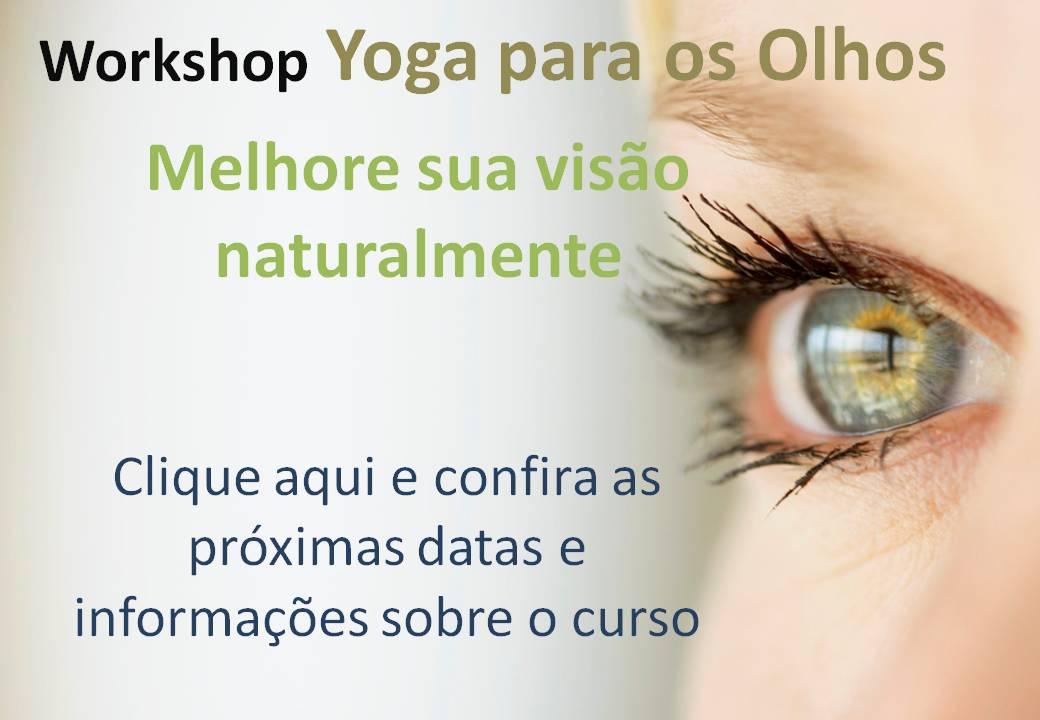 Workshop YOGA PARA OS OLHOS