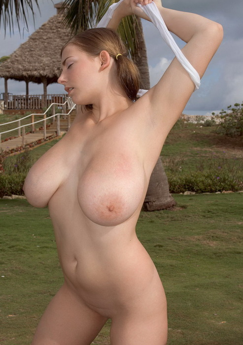 massive natural tits