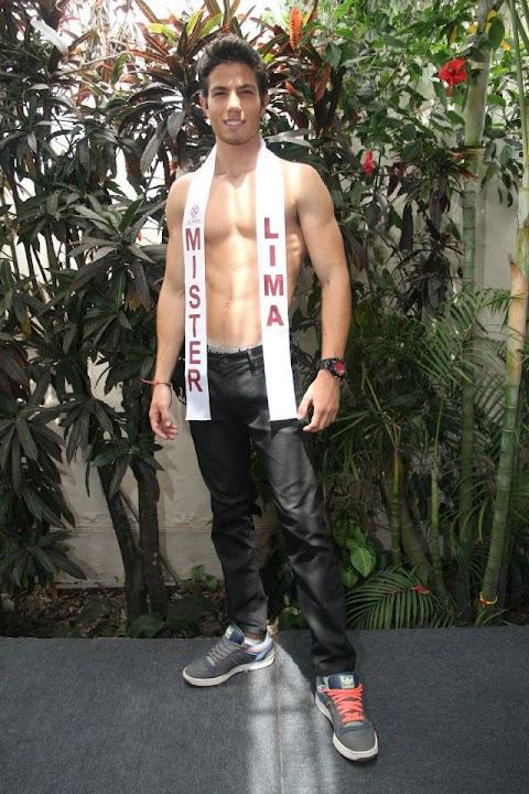 Mister Perú Universe 2012: Bruno Vega Egg