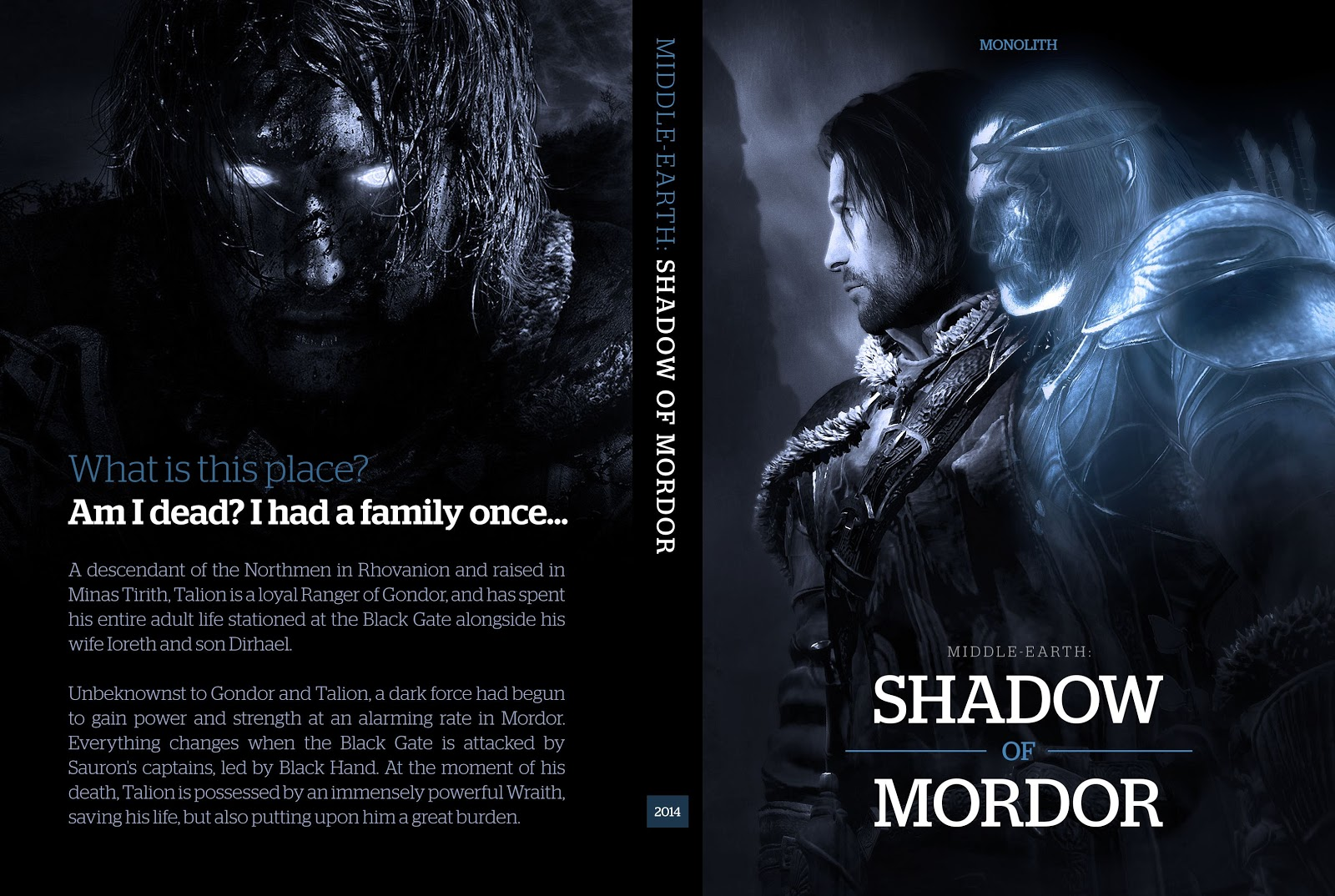 Capa Middle Earth Shadow Of Mordor PC
