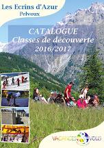 Catalogue classes de découverte 2016/2017 à télécharger
