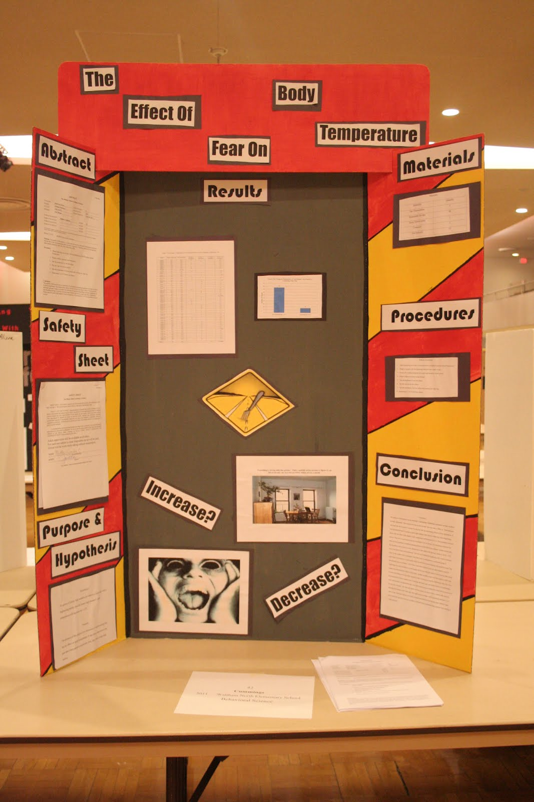 High school science fair research papers
