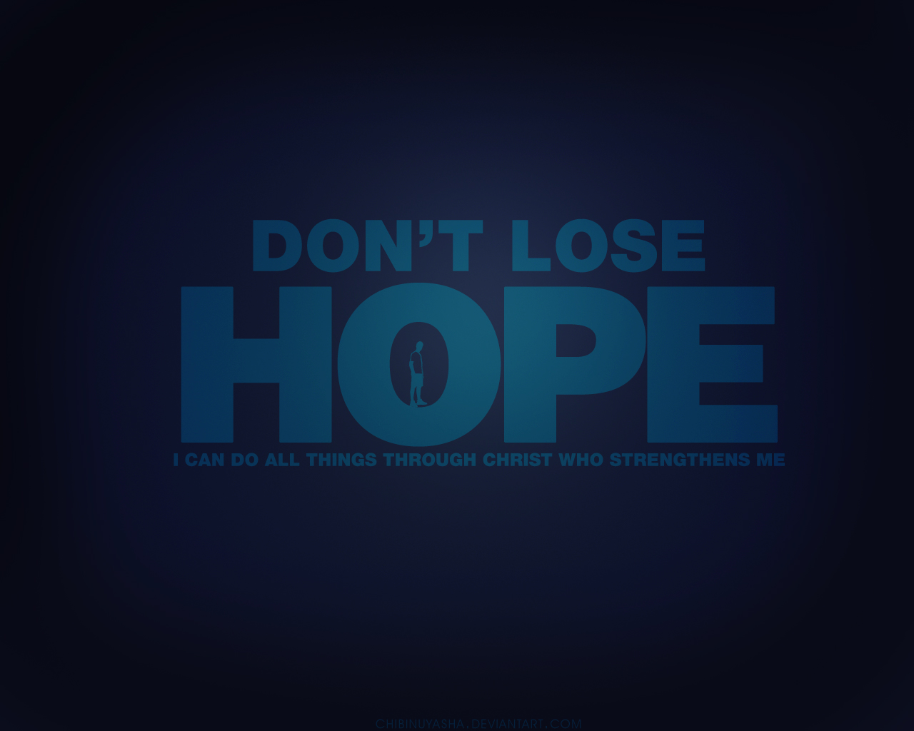 I Love Typography Wallpaper Don T Lose Hope