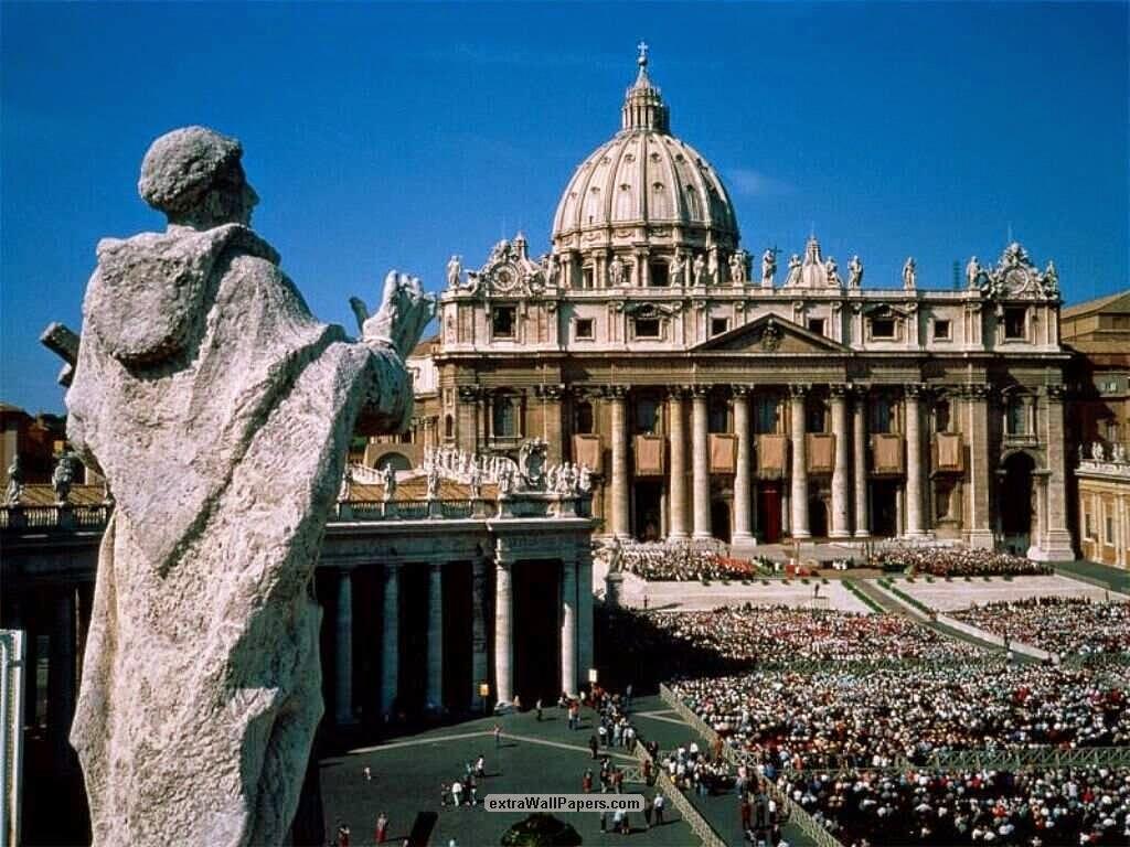 Cuando estés por la Ciudad del Vaticano...