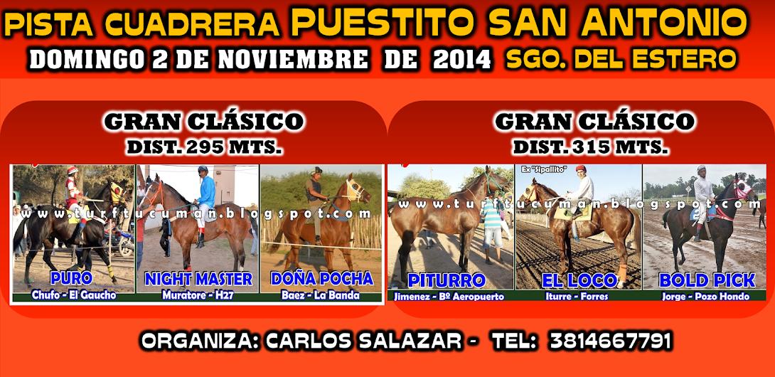 02-11-14-2 Y 3-CLAS-P. SAN ANTONIO