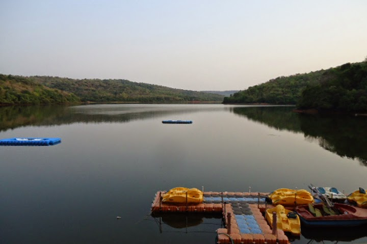 Dhamapur Lake in Malvan