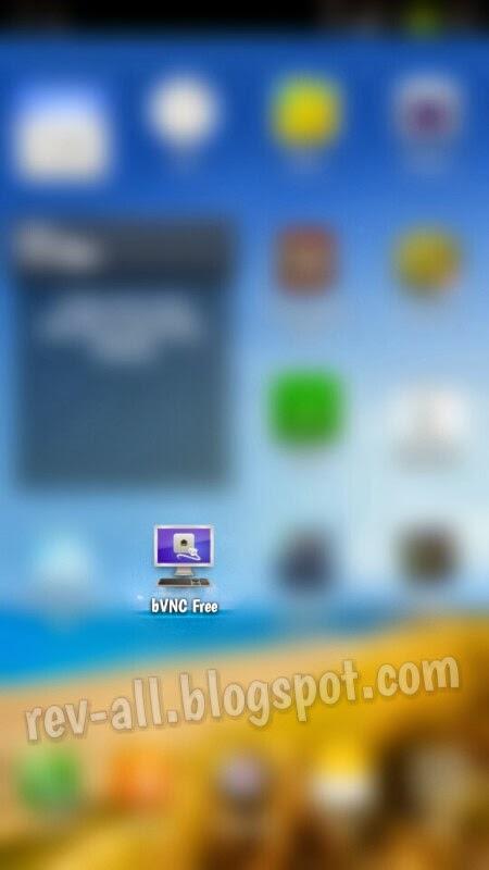 Ikon bVNC free - client untuk mengoperasikan perangkat Android atau laptop dari jarak jauh (rev-all.blogspot.com)