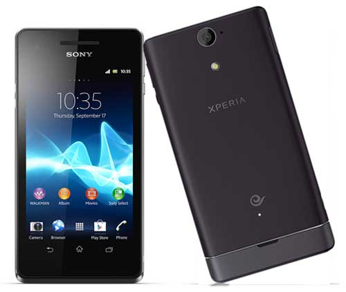 Browse Home Sony Xperia V Android Berprosesor Snapdragon S4 Yang Tahan Air