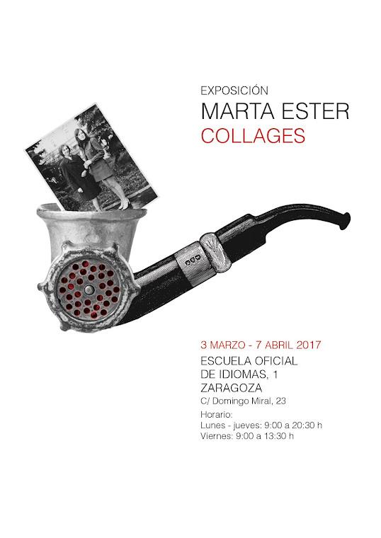 Marta Ester Tabuenca: collages