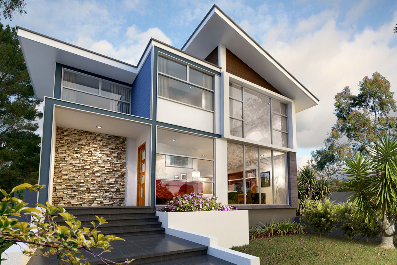 Rumah Rumah Minimalis Modern Homes Designs Rio De Janeiro Brazil