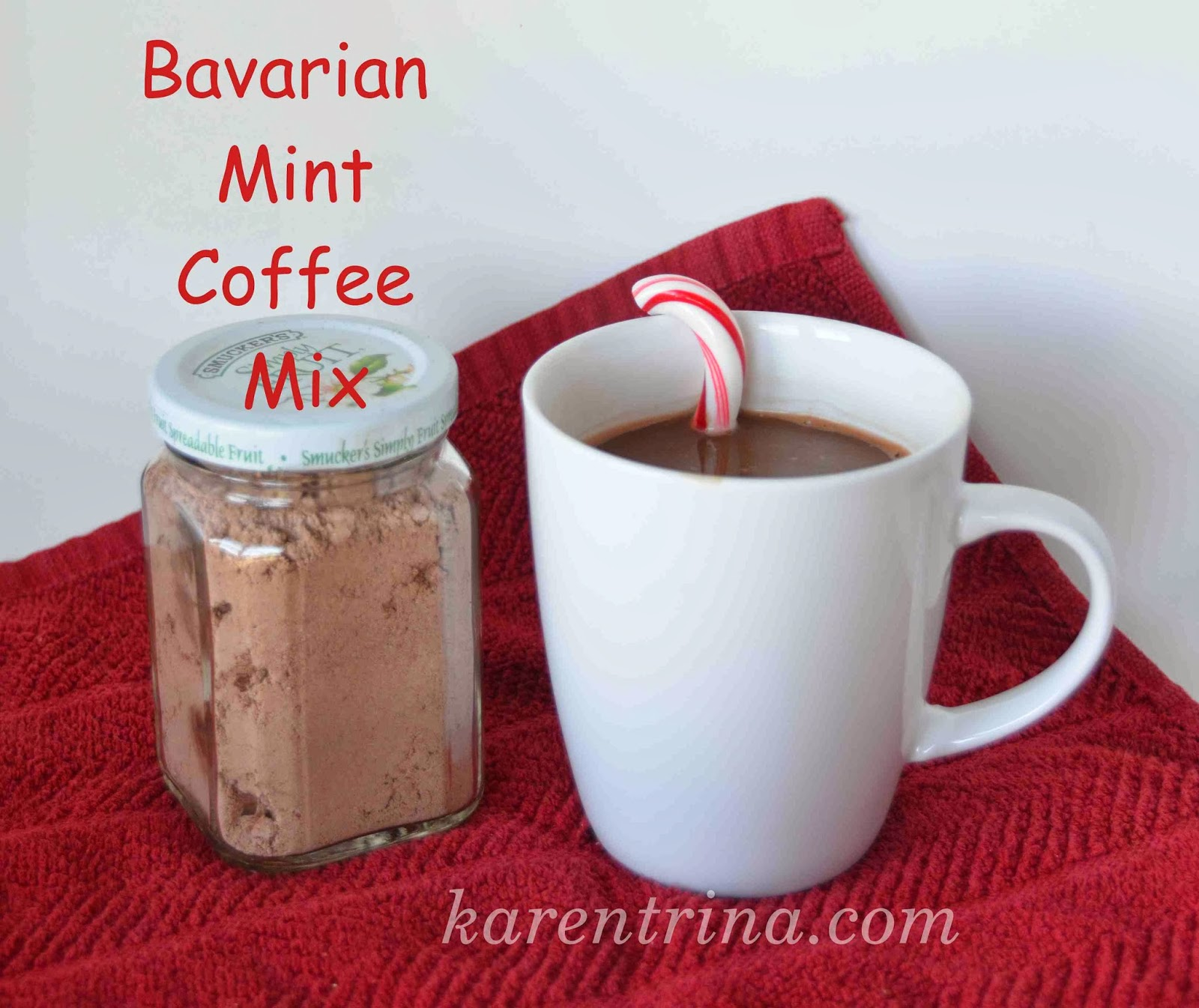 homemade flavored coffee mix