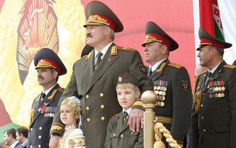 Presiden Belarusia, Alexander Lukashenko