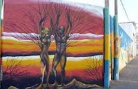 Mural en Rosario, Colonia Uruguay