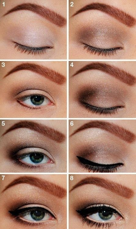 comment faire maquillage des yeux marrons ?