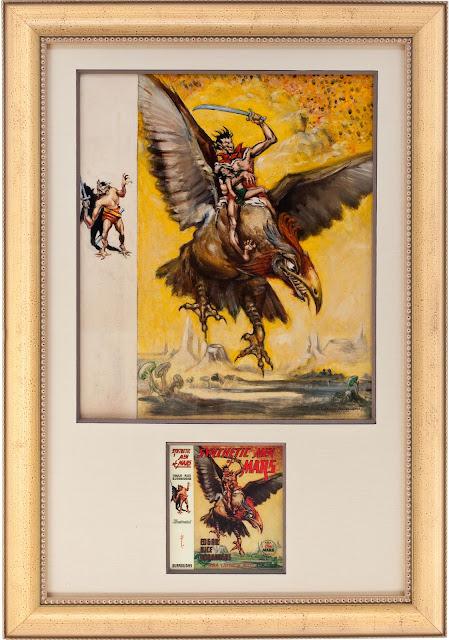 Fantasy Book Cover Art For Sale : Marooned science fiction fantasy books on mars john