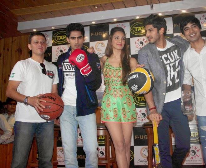 'Fugly' Film Actress Kiara Advani Latest Hot Pics in green mini skirt sexy hot pics