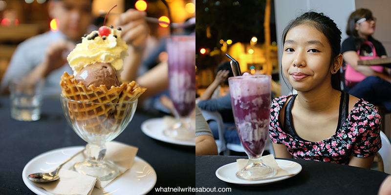 Farmacy Ice Cream and Soda Fountain, The Fort, Global City, Dusty Road and Berry Soda Float Review