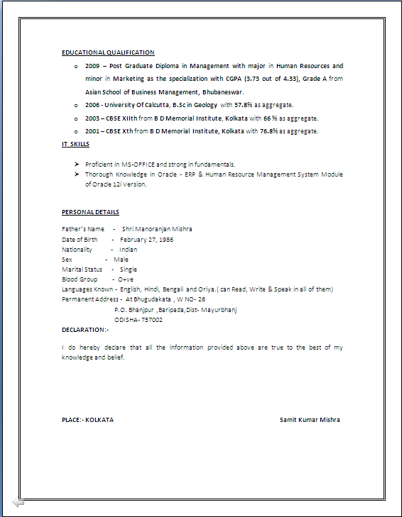 Hr Resume In...</div> 	</div>  	<div class=
