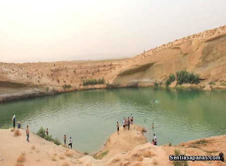 Gafsa Lake, Tunisia
