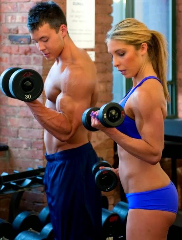 Masa muscular: mujeres vs hombres
