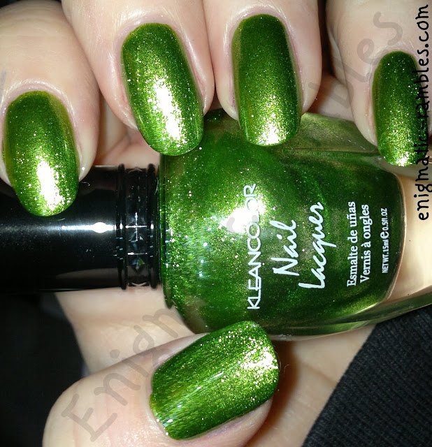 Swatch-Kleancolor-Metallic-Green