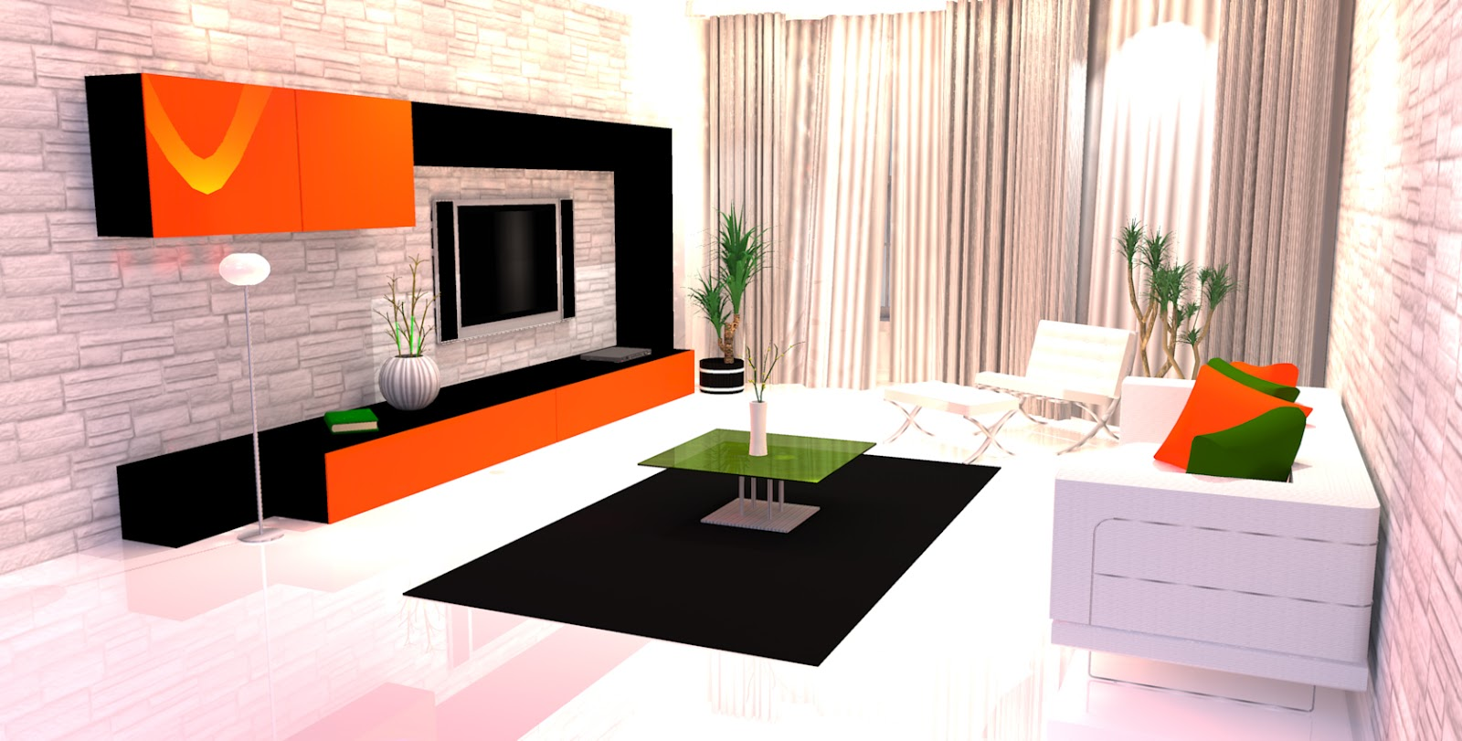 Deco salon moderne 2015 decoration maison moderne for Decoration interieur moderne salon