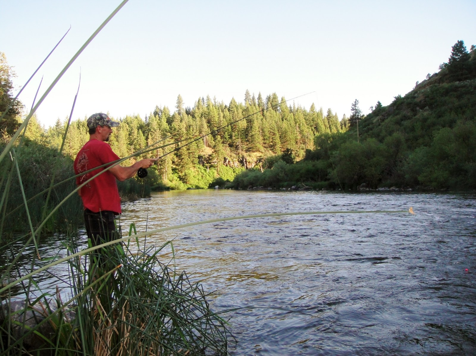 fly fishing, trout, fishing the rogue, fishing the klamth river, Oregon