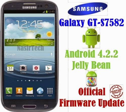 S7582XXUANA1 Android 4.2.2 for Galaxy S Duos 2 GT-S7582 Stock Firmware