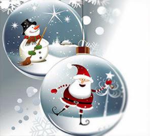 Weihnachtskugeln Bild