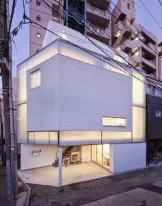 membangun-desain-bangunan-rumah-tinggal-minimalis-lahan-sempit-yoritaka hayashi-ruang dan rumahku-002