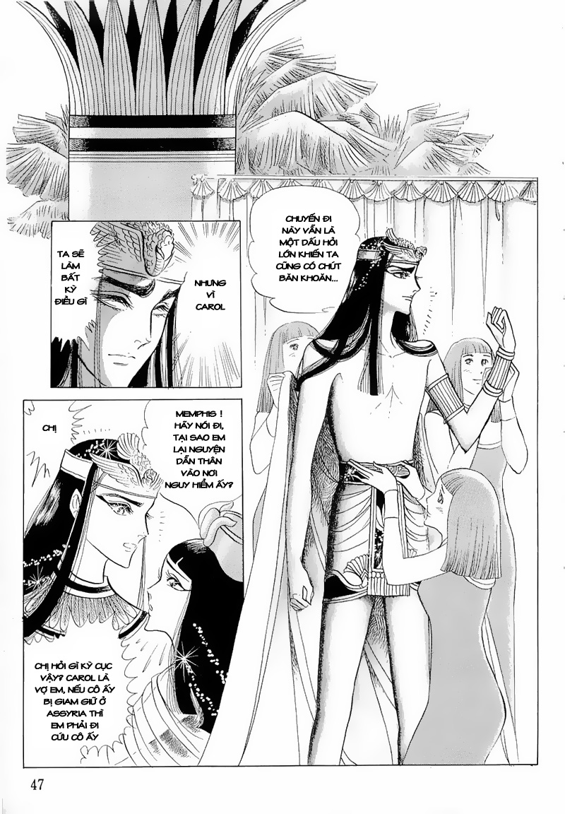 Nữ Hoàng Ai Cập-Ouke no Monshou chap 51 Trang 15 - Mangak.info